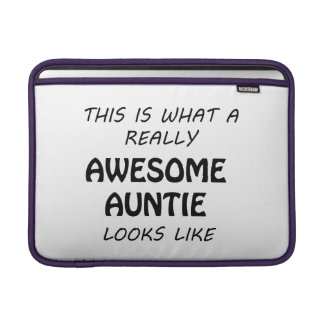 Awesome Auntie MacBook Air Sleeve