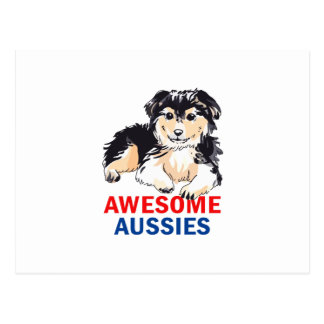 AWESOME AUSIIES POSTCARDS
