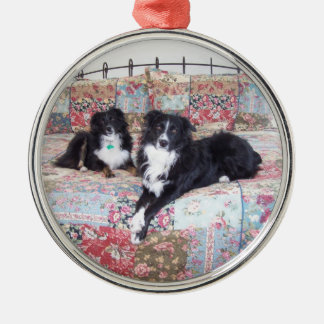 Awesome Aussies, Maggie And Nitis Metal Ornament