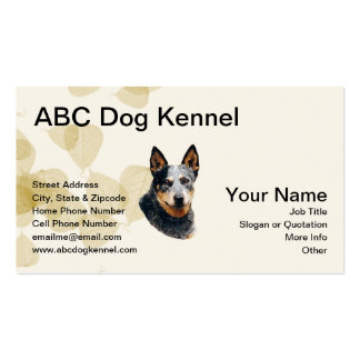 Awesome Australian Cattle Dog Business Card
