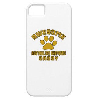 AWESOME AUSTRALIAN SHEPHERD DADDY iPhone SE/5/5s CASE