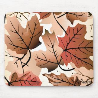 Awesome Autumn Leaves Mousepad