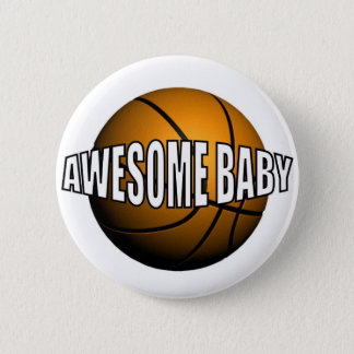 AWESOME BABY PINBACK BUTTON
