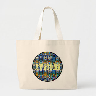 Awesome Jumbo Tote Bag