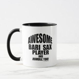 Awesome Bari Sax Player Mug