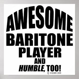 Awesome Baritone Player Print