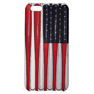 awesome baseball bat american flag phone case