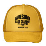 Awesome Bass Clarinet Player Hat