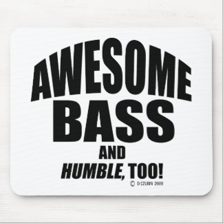 Awesome Bass Mouse Pad