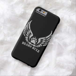 Awesome Bear Pride Bears Rule Angel Wings Bear Paw Barely There iPhone 6 Case