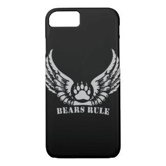 Awesome Bear Pride Bears Rule Angel Wings Bear Paw iPhone 7 Case