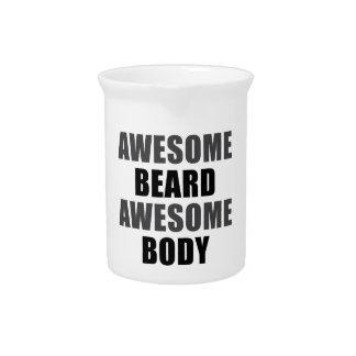 Awesome Beard Awesome Body Pitchers