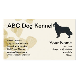 Awesome Belgian Sheepdog Business Card Template