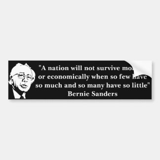 Awesome Bernie Sanders Bumper Sticker