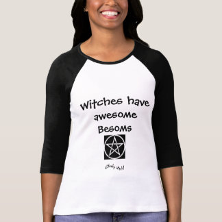 Awesome Besoms - Witches T Shirt