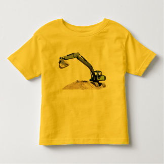 Awesome Big Green Construction Excavator #4 Toddler T-shirt