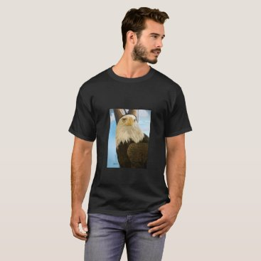 USA Themed AWESOME BIRD T-Shirt