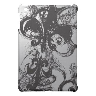 Awesome Black Fleur De Les Case For The iPad Mini