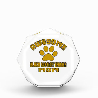 AWESOME BLACK RUSSIAN TERRIER MOM AWARD