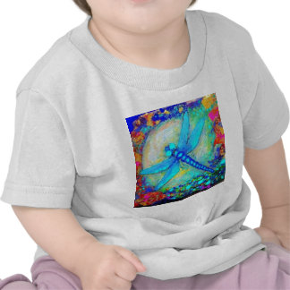 Awesome Blue Dragonfly by Sharles Tee Shirt