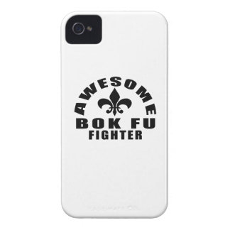 AWESOME BOK FU FIGHTER Case-Mate iPhone 4 CASE