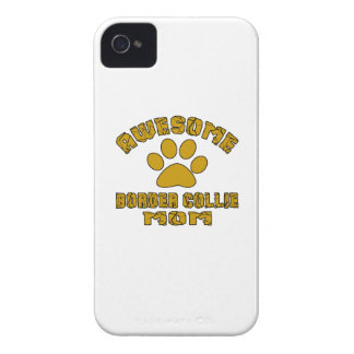 AWESOME BORDER COLLIE MOM Case-Mate iPhone 4 CASE