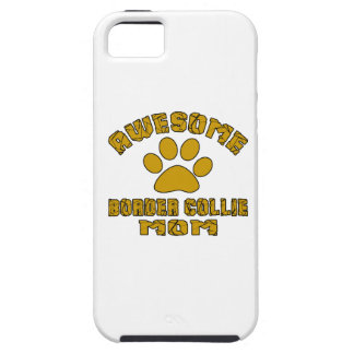 AWESOME BORDER COLLIE MOM iPhone SE/5/5s CASE