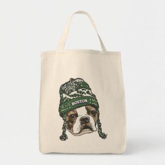 Awesome Boston Fan Green Hat Tote Bag