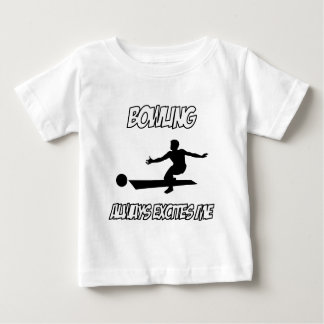 awesome bowling designs baby T-Shirt