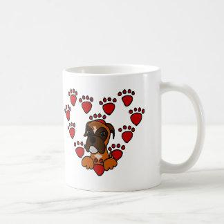 Awesome Boxer Dog Love Coffee Mug