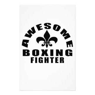 AWESOME BOXING FIGHTER STATIONERY