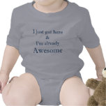 awesome - boys bodysuit