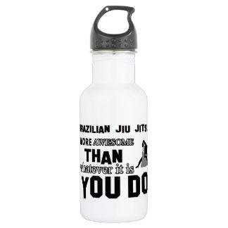 Awesome brazilian jiu jitsu design water bottle