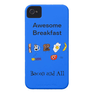 Awesome Breakfast, Bacon and All iPhone 4 Cover