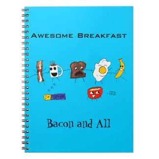 Awesome Breakfast, Bacon and All Notebook