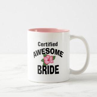 Awesome Bride Two-Tone Coffee Mug