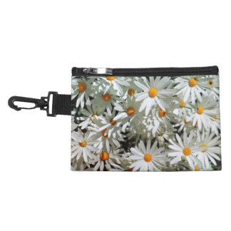 Awesome Bright White Daisy Floral Display Design Accessories Bags
