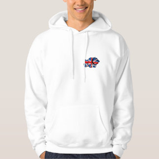 Awesome British Hooded Pullover