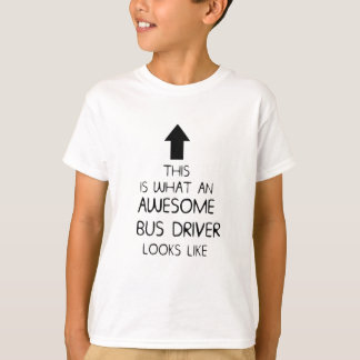 AWESOME BUS DRIVER T SHIRT MENS LADIES D48 ''''''7