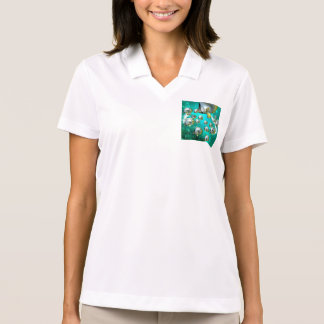 Awesome butterfly fish polo shirt