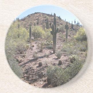 Awesome Cactus Garden Drink Coaster