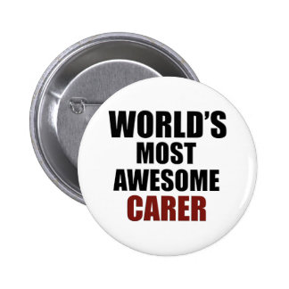 Awesome CARER designs Button
