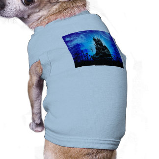Awesome castle in the night T-Shirt