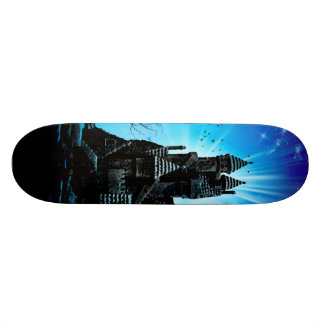 Awesome castle skateboard