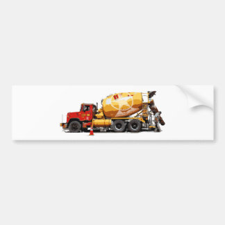 Awesome Cement Truck #6 Bumper Sticker
