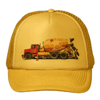 Awesome Cement Truck #6 Trucker Hat