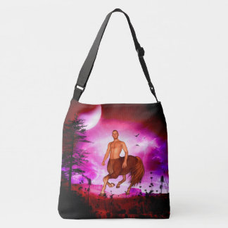 Awesome centaur crossbody bag