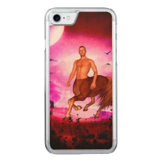 Awesome centaur in the night carved iPhone 8/7 case