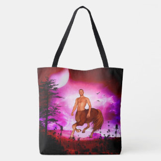 Awesome centaur tote bag
