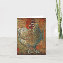 Awesome Chicken Greeting Card